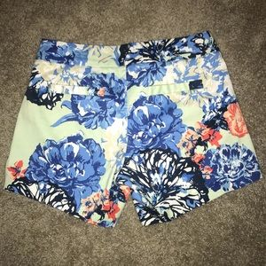 J. Crew Flower Shorts